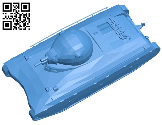 Tank AMX 40 B007373 file stl free download 3D Model for CNC and 3d printer