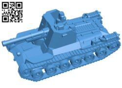Tank B007212 file stl free download 3D Model for CNC and 3d printer