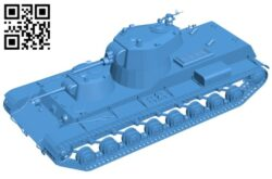 Tank B007274 file stl free download 3D Model for CNC and 3d printer