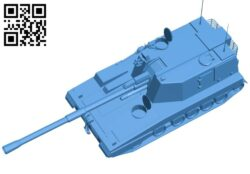 Tank PLZ-05 B007238 file stl free download 3D Model for CNC and 3d printer