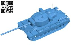 Tank T29 B007348 file stl free download 3D Model for CNC and 3d printer