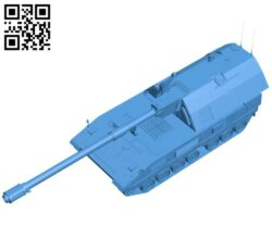 Tank artillery B007194 file stl free download 3D Model for CNC and 3d printer