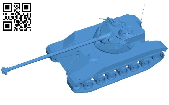 Tank bat 25 B007563 file stl free download 3D Model for CNC and 3d printer
