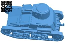 Tank type-94 B007264 file stl free download 3D Model for CNC and 3d printer