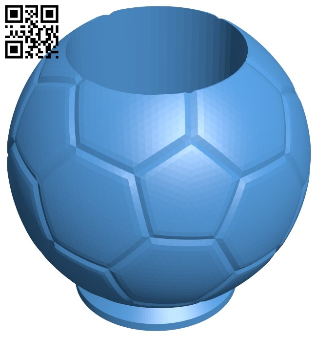 The bottle is shaped like a ball B007556 file stl free download 3D Model for CNC and 3d printer