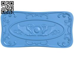 The door pattern A004842 download free stl files 3d model for CNC wood carving
