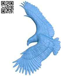 The eagle is in flight A004822 download free stl files 3d model for CNC wood carving