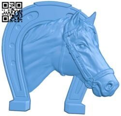 The horseshoe – horse A004938 download free stl files 3d model for CNC wood carving