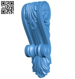 Top of the column A004862 download free stl files 3d model for CNC wood carving