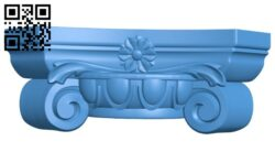 Top of the column A004866 download free stl files 3d model for CNC wood carving