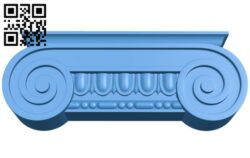 Top of the column A004872 download free stl files 3d model for CNC wood carving