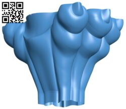 Top of the column A004874 download free stl files 3d model for CNC wood carving