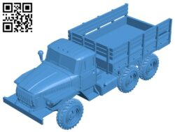 Ural truck B007270 file stl free download 3D Model for CNC and 3d printer