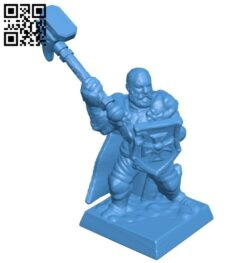 Warmaster general man B007307 file stl free download 3D Model for CNC and 3d printer