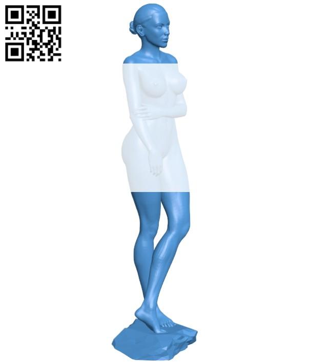 Women B007401 file stl free download 3D Model for CNC and 3d printer
