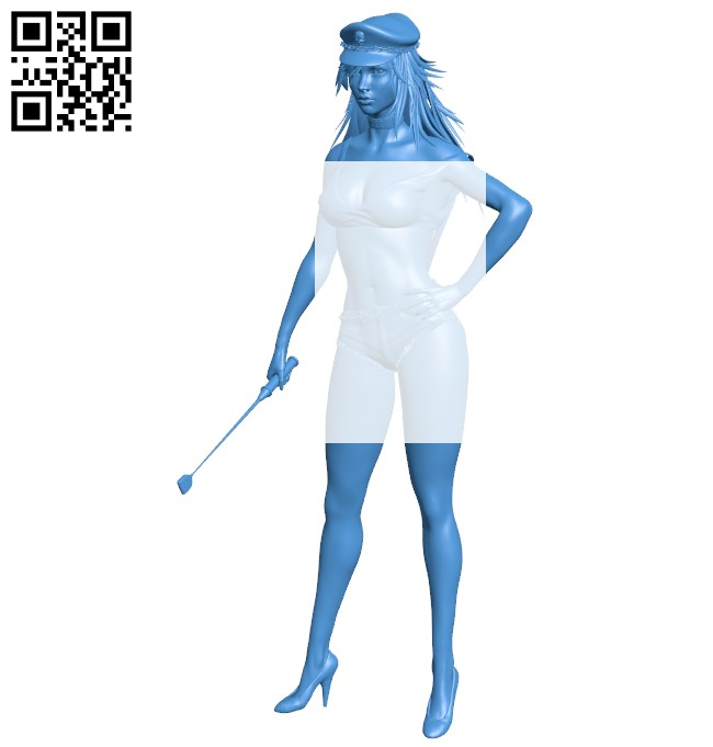 Women poison B007432 file stl free download 3D Model for CNC and 3d printer
