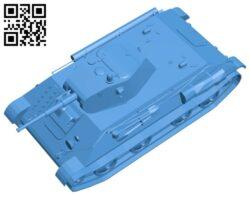 World of tanks LTP B007528 file stl free download 3D Model for CNC and 3d printer