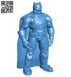 Batman armor B007857 file stl free download 3D Model for CNC and 3d printer