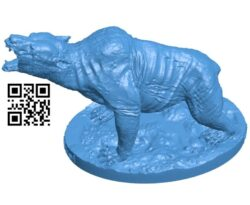 Bear Yao Guai B007689 file stl free download 3D Model for CNC and 3d printer