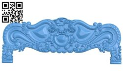 Bed frame pattern A004992 download free stl files 3d model for CNC wood carving
