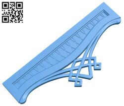 Bed frame pattern A005159 download free stl files 3d model for CNC wood carving