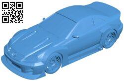 Benefactor Feltzer car B007895 file stl free download 3D Model for CNC and 3d printer