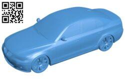 Car BMW E60 B007848 file stl free download 3D Model for CNC and 3d printer