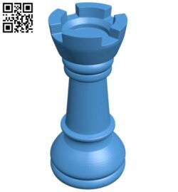 Castle – chess B007616 file stl free download 3D Model for CNC and 3d printer