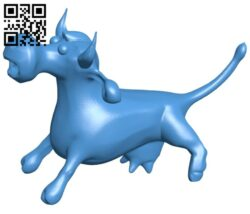 Cow sneeze B007634 file stl free download 3D Model for CNC and 3d printer