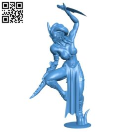 Daemonette B007637 file stl free download 3D Model for CNC and 3d printer