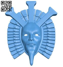 Dagoth Ur mask B007942 file stl free download 3D Model for CNC and 3d printer
