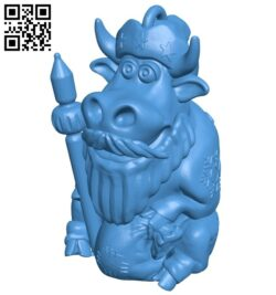 Ded moroz ring B007968 file stl free download 3D Model for CNC and 3d printer