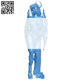 Demon of lust B007641 file stl free download 3D Model for CNC and 3d printer