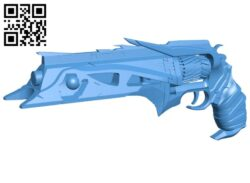 Destiny thorn – gun B007969 file stl free download 3D Model for CNC and 3d printer