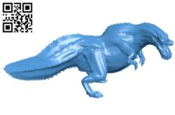 Deviljho B007642 file stl free download 3D Model for CNC and 3d printer