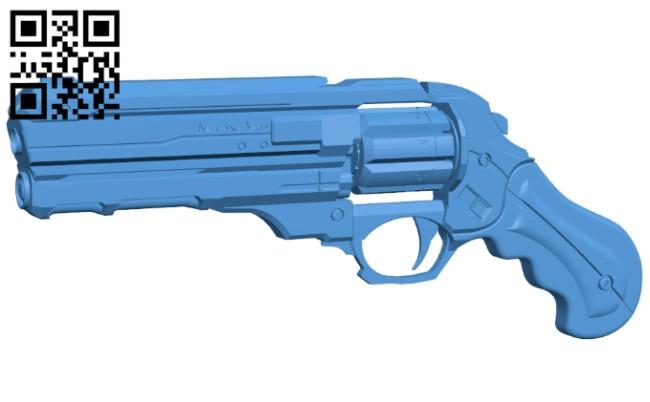 Diamondback - gun B007990 file stl free download 3D Model for CNC and 3d printer