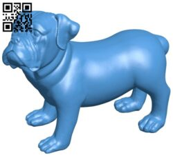 Dog scan B007646 file stl free download 3D Model for CNC and 3d printer
