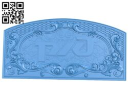 Door pattern design A005108 download free stl files 3d model for CNC wood carving