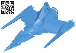 Draconian marauder ship B007852 file stl free download 3D Model for CNC and 3d printer