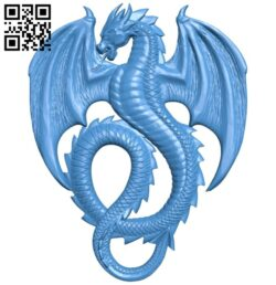 Dragon A005115 download free stl files 3d model for CNC wood carving