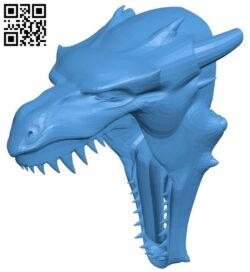 Dragon head glow B007965 file stl free download 3D Model for CNC and 3d printer