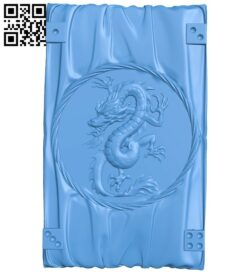 Dragon shaped door pattern A005111 download free stl files 3d model for CNC wood carving