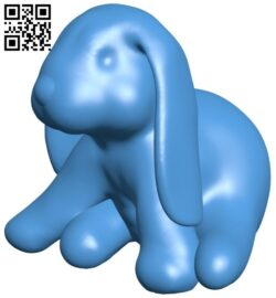 Ducky rabbit B007650 file stl free download 3D Model for CNC and 3d printer