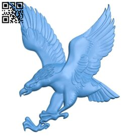 Eagle A005011 download free stl files 3d model for CNC wood carving