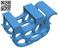 Elephant napkin holder B007894 file stl free download 3D Model for CNC and 3d printer