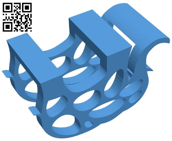 Elephant napkin holder B007894 file stl free download 3D Model for CNC and 3d printer