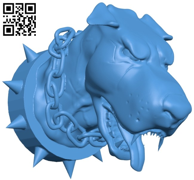 Evil dog B007901 file stl free download 3D Model for CNC and 3d printer