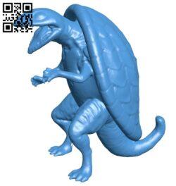 Evil turtle  B007760 file stl free download 3D Model for CNC and 3d printer