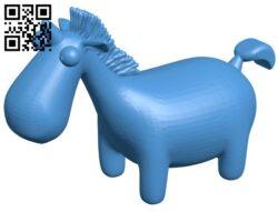 Fat unicorn B007763 file stl free download 3D Model for CNC and 3d printer