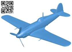 Fiat G.55 Centauro aircraft B007765 file stl free download 3D Model for CNC and 3d printer